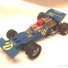Scalextric: TYRRELL FORD REF. C 48 AZUL DE EXIN SCALEXTRIC AÑOS 70. Lote 205745447