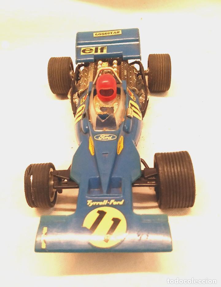 Scalextric: Tyrrell Ford Ref. C 48 Azul de Exin Scalextric años 70 - Foto 2 - 205745447