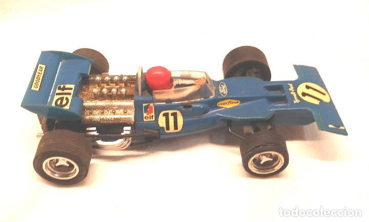 Scalextric: Tyrrell Ford Ref. C 48 Azul de Exin Scalextric años 70 - Foto 3 - 205745447
