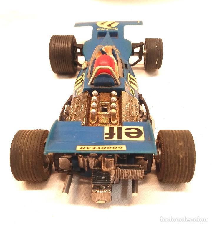 Scalextric: Tyrrell Ford Ref. C 48 Azul de Exin Scalextric años 70 - Foto 4 - 205745447