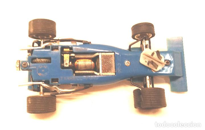 Scalextric: Tyrrell Ford Ref. C 48 Azul de Exin Scalextric años 70 - Foto 5 - 205745447