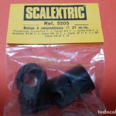 Scalextric: SCALEXTRIC EXIN NEUMATICOS 21MM LOTUS,P34,BRAHAM,LIGIER,B3. Lote 205855152