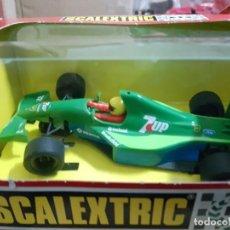 Scalextric: SCALEXTRIC EXIN JORDAN SEVEN UP NUEVO EN CAJA. Lote 206287180