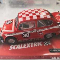 Scalextric: SCALEXTRIC FIAT ABARTH 1000 SONY SEAT 600 REF. 6385. Lote 206296261