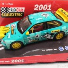 Scalextric: SEAT CORDOBA WRC SCALEXTRIC CLUB 2001. Lote 206296752