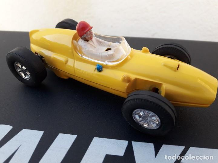 COOPER CLIMAX AMARILLO SCALEXTRIC EXIN TRIANG.IMPECABLE. (Juguetes - Slot Cars - Scalextric Exin)