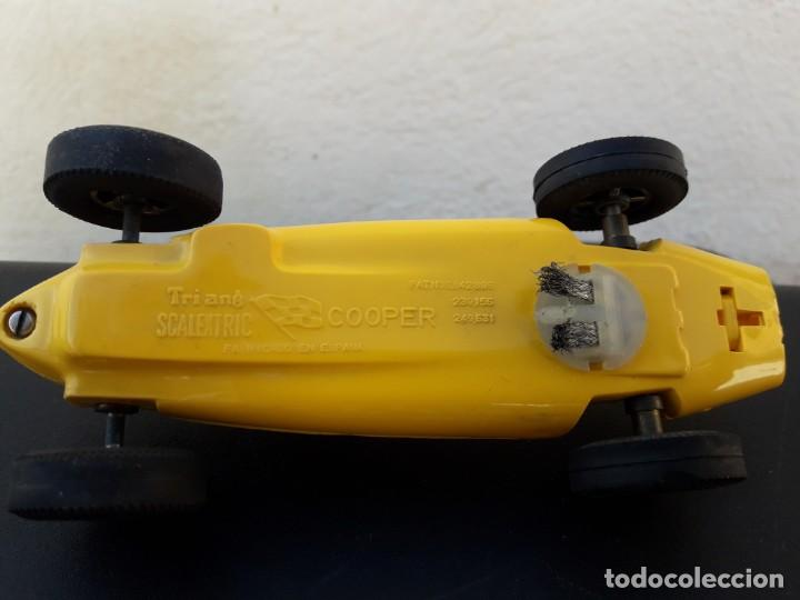 Scalextric: Cooper climax amarillo scalextric exin triang.impecable. - Foto 6 - 206416858