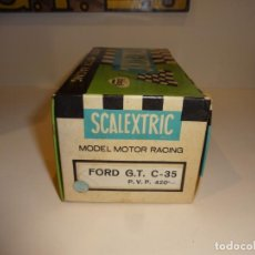 Scalextric: SCALEXTRIC. EXIN. CAJA FORD GT. REF. C-35. Lote 206428831