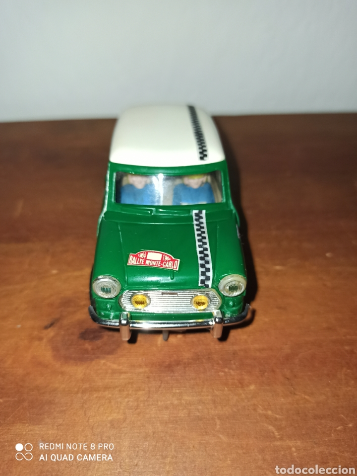 MINI COOPER REF C-45 MADE IN SPAIN (Juguetes - Slot Cars - Scalextric Exin)
