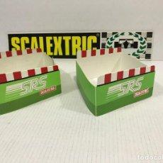 Scalextric: LOTE DE 2 SOPORTES DE PUENTE SCALEXTRIC EXIN SRS. Lote 206756455