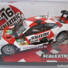 Scalextric: COCHE SCALEXTRIC CLUB 2016 EDITION MERCEDES DTM. Lote 206760391