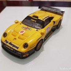 Scalextric: DESGUACE PORSCHE 911 GT1 TECNITOYS SCALEXTRIC EXIN SLOT. Lote 206938838