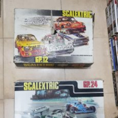 Scalextric: LOTE 2 CIRCUITOS GP12 Y GP24 SCALEXTRIC EXIN SLOT. Lote 206939290