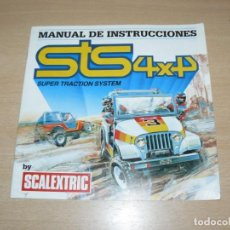Scalextric: 31- CATALOGO FOLLETO SCALEXTRIC STS 4X4 MANUAL DE INSTRUCCIONES 12 PÁGINAS AÑO 1985 SLOT CARS. Lote 206939637