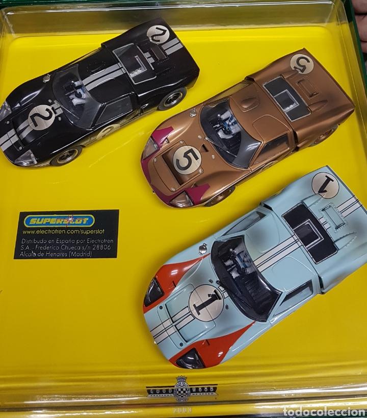Scalextric: Impresionante coches Scalextrix SuperSlot Le Mans 1966 - Foto 2 - 207292576