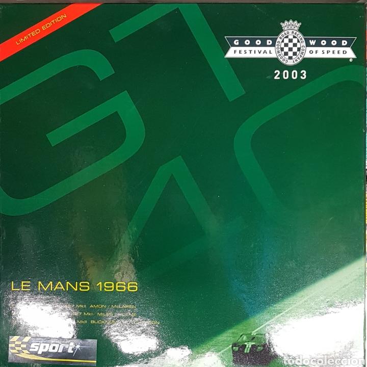 Scalextric: Impresionante coches Scalextrix SuperSlot Le Mans 1966 - Foto 4 - 207292576
