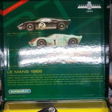 Scalextric: IMPRESIONANTE COCHES SCALEXTRIX SUPERSLOT LE MANS 1966. Lote 207292576