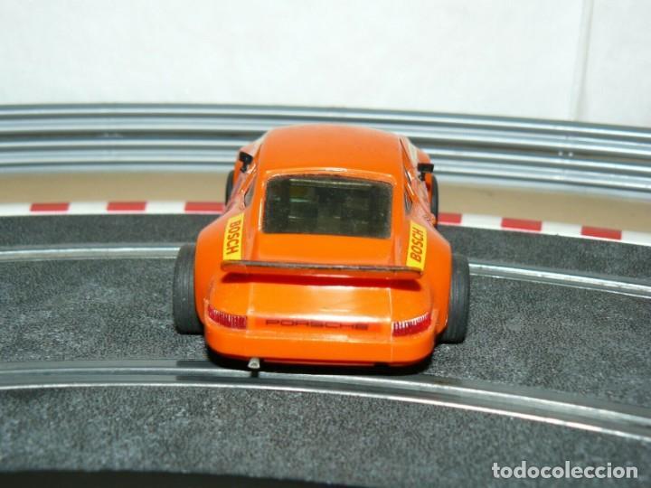 Scalextric: Scalextric Exin Coche PORSCHE CARRERA RS Naranja 4051 original año 1975 slot car - Foto 4 - 208063841