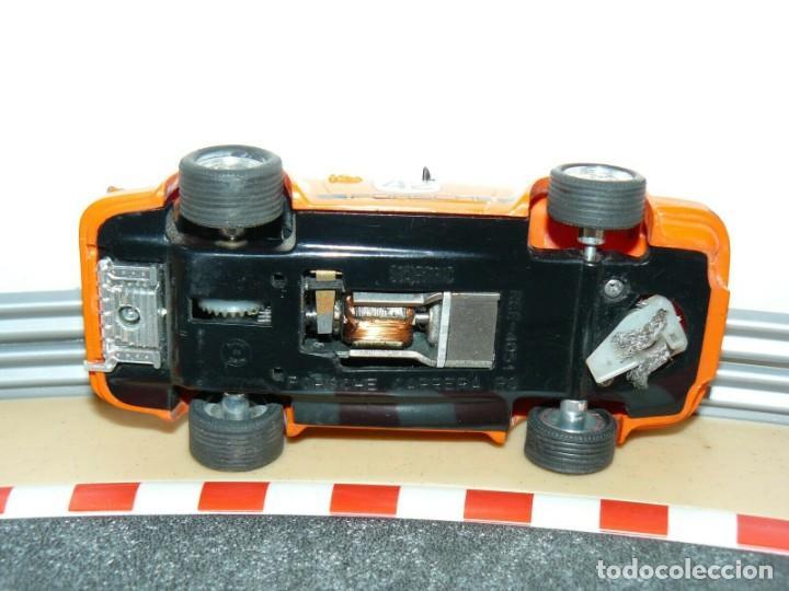 Scalextric: Scalextric Exin Coche PORSCHE CARRERA RS Naranja 4051 original año 1975 slot car - Foto 5 - 208063841