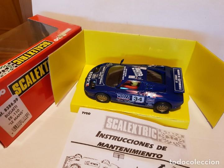 BUGATTI EB-110 REF.-8386.09 (Juguetes - Slot Cars - Scalextric Exin)