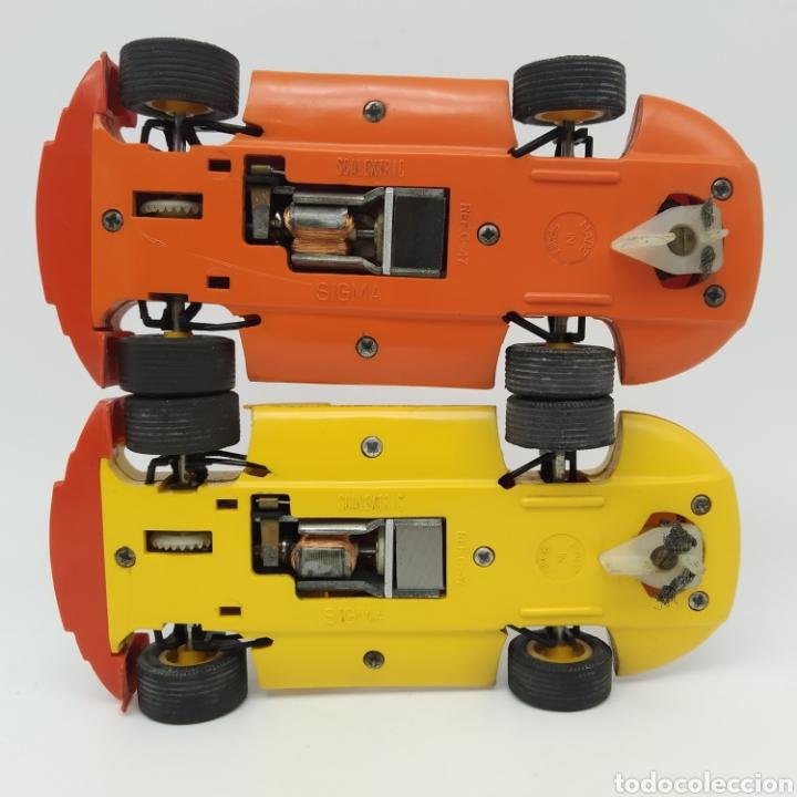 Scalextric: Lote de dos Coches Scalextric Sigma EXIN, fabricados en España - Foto 4 - 210252348
