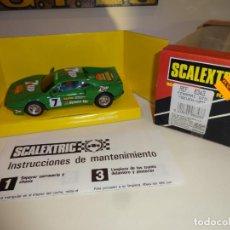 Scalextric: SCALEXTRIC. EXIN. FERRARI GTO SEVEN-UP. REF. 8343. Lote 210802721