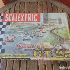 Scalextric: CIRCUITO GT 25, EL DE LOS MERCEDES ,DE SCALEXTRIC EXIN CON DOCUMENTACION. Lote 211689576