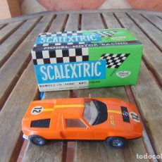 Scalextric: MERCEDES WANKEL NARANJA DE SCALEXTRIC EXIN, CON SU CAJA. Lote 211698256