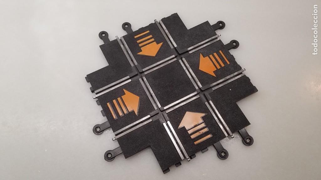 SLOT SCALEXTRIC EXIN TRAMO PISTA CRUCE VIAS (Juguetes - Slot Cars - Scalextric Exin)