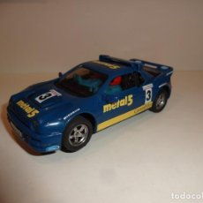 Scalextric: SCALEXTRIC. EXIN. FORD RS200 AZUL MÉTAL 5. CON LUCES.. Lote 212554621