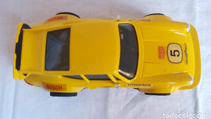 Scalextric: ANTIGUO COCHE - Scalextric - ORIGINAL EXIN Porsche 911 CARRERA RS REF 4051 AMARILLO -Muy buen estado - Foto 8 - 212687293