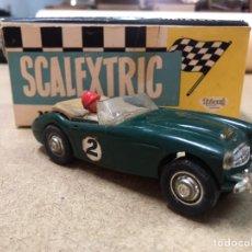 Scalextric: COCHE SCALEXTRIC MECCANO TRI ANG - AUSTIN HEALEY 3000 CON CAJA ORIGINAL VINTAGE. Lote 213171663