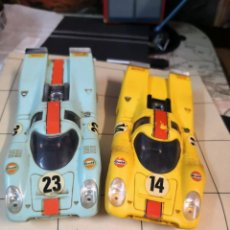 Scalextric: 2 UDES SCALEXTRIC EXIN CARROCERIA Y CHASIS PORSCHE 917. Lote 213316115
