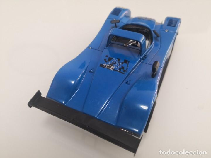 Scalextric: REYNARD 2KQ DECORACIÓN MR RACING SLOT SPIRIT VW VOLKSWAGEN AZUL SCALEXTRIC - Foto 3 - 213442501