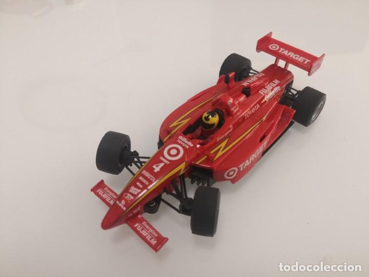 COCHE SCALEXTRIC DE NINCO LOLA TOYOTA TARGET REF. 50373 Nº4 FORMULA INDY F1 1 (Juguetes - Slot Cars - Scalextric Exin)
