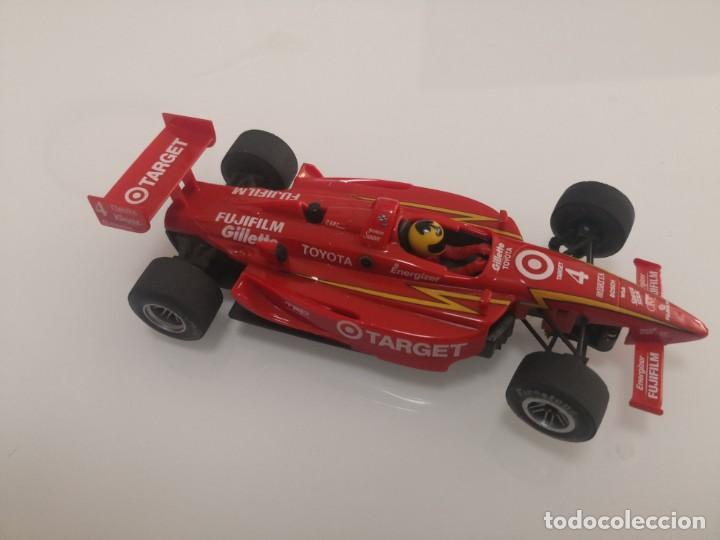 Scalextric: Coche scalextric de Ninco Lola Toyota Target ref. 50373 nº4 FORMULA INDY F1 1 - Foto 2 - 213442701