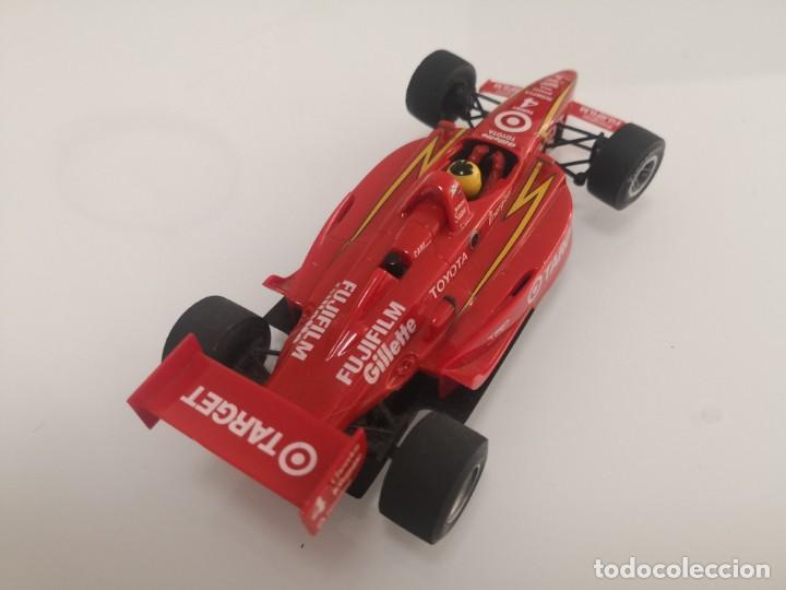 Scalextric: Coche scalextric de Ninco Lola Toyota Target ref. 50373 nº4 FORMULA INDY F1 1 - Foto 3 - 213442701
