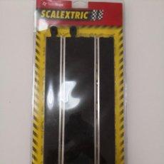 Scalextric: 2 RECTAS STANDARD 350 MM SCALEXTRIC REF 8406 TECNITOYS BLISTER PRECINTADO NUEVAS A ESTRENAR. Lote 240842705