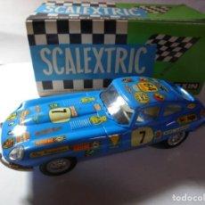 Scalextric: MAGNIFICO COCHE DE SCALEXTRIC G.T JAGUAR,SALIDA 1 EURO. Lote 213819755