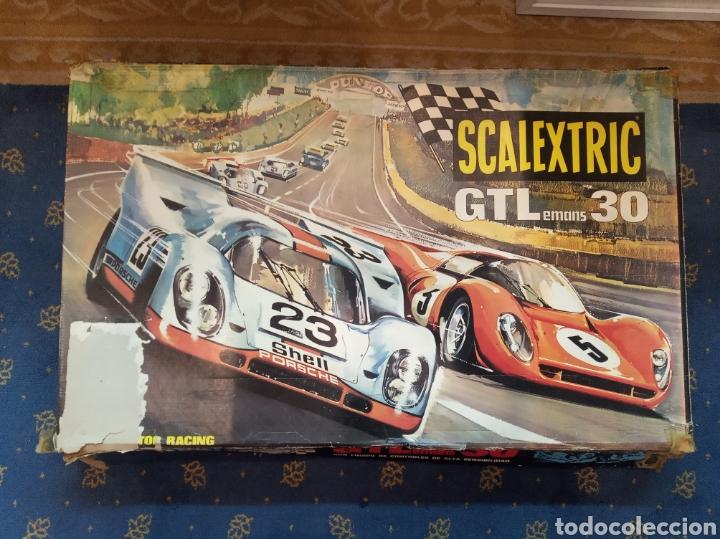 Scalextric: Scalextric GT Lemans 30. 2 Porsche 917 rojo y blanco. Muy completo. - Foto 4 - 213971483