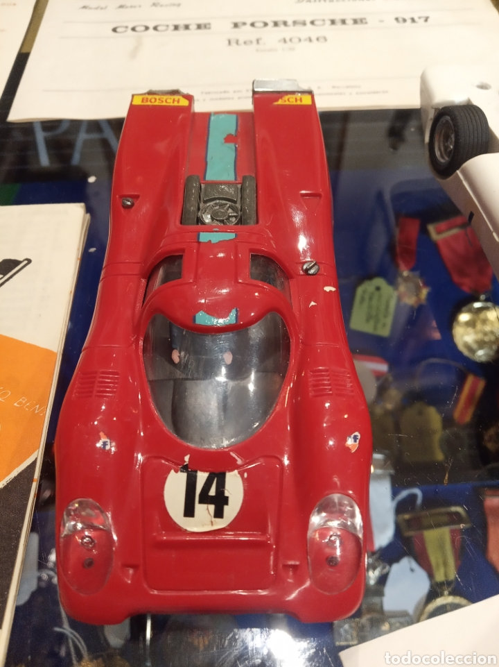 Scalextric: Scalextric GT Lemans 30. 2 Porsche 917 rojo y blanco. Muy completo. - Foto 11 - 213971483