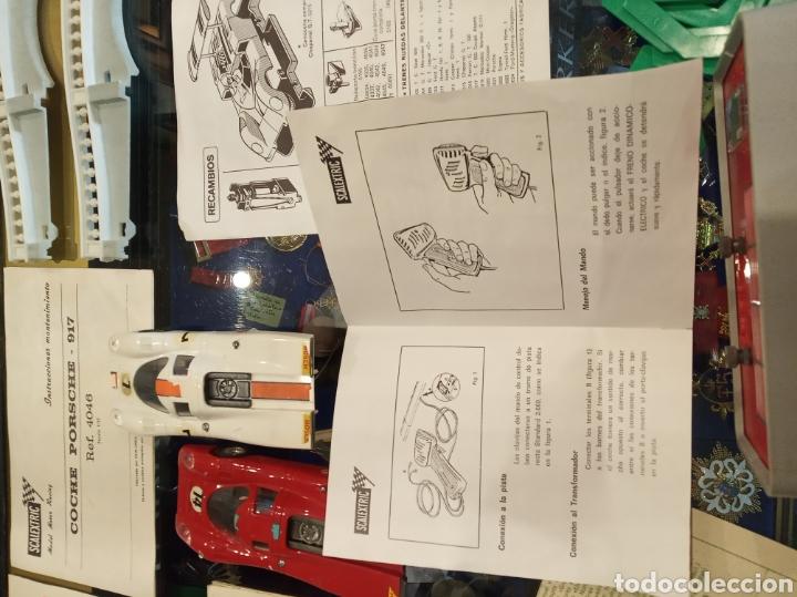 Scalextric: Scalextric GT Lemans 30. 2 Porsche 917 rojo y blanco. Muy completo. - Foto 23 - 213971483