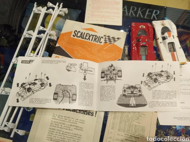 Scalextric: Scalextric GT Lemans 30. 2 Porsche 917 rojo y blanco. Muy completo. - Foto 29 - 213971483