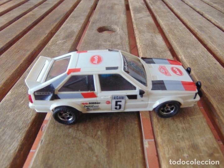 COCHE DE PISTA DE SCALECTRIC EXIN AUDI QUATTRO BLANCO (Juguetes - Slot Cars - Scalextric Exin)