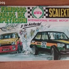 Scalextric: CATALOGO DE COCHES SCALEXTRIC. Lote 215106030