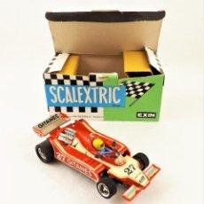 Scalextric: SCALEXTRIC EXIN LIGIER JS-11 F-1 100% ORIGINAL REF 4060. Lote 215344398