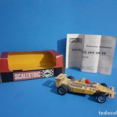 Scalextric: SCALEXTRIC EXIN LOTUS JPS MK4 REF. 4059. MADE IN SPAIN.. Lote 215682708