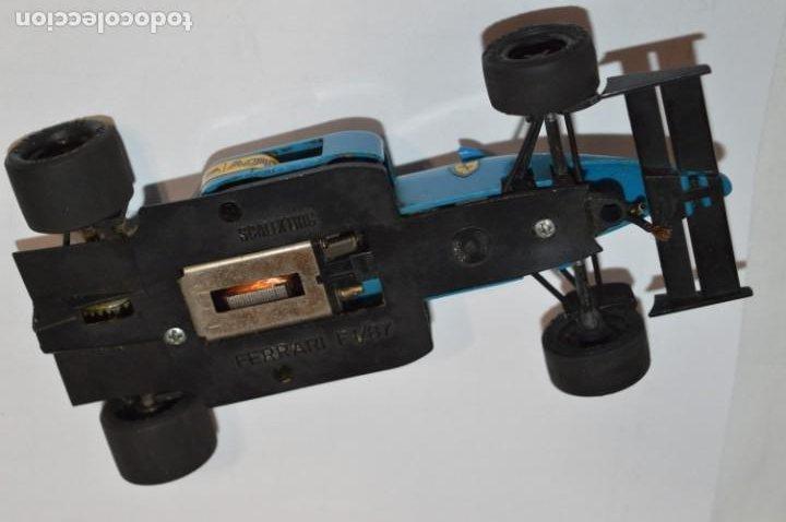 Scalextric: Lote Slot / FERRARI F1/87 y PORSCHE 959 - SCALEXTRIC EXIN Original - ¡Mira fotos/detalles! - Foto 9 - 216551926