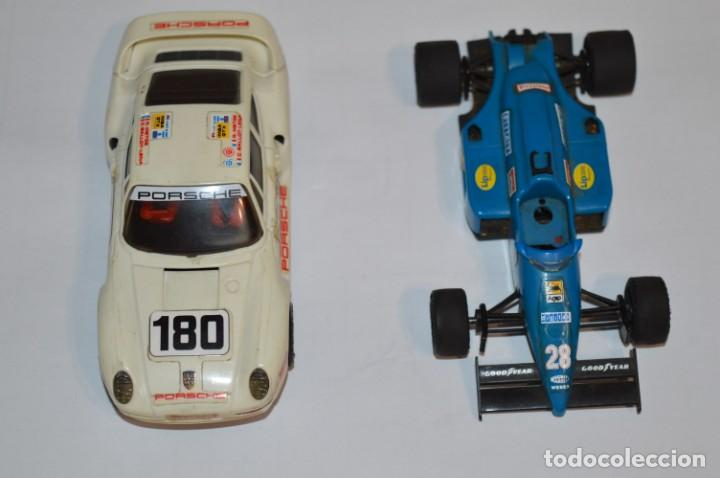 LOTE SLOT / FERRARI F1/87 Y PORSCHE 959 - SCALEXTRIC EXIN ORIGINAL - ¡MIRA FOTOS/DETALLES! (Juguetes - Slot Cars - Scalextric Exin)