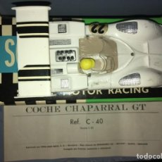 Scalextric: CHAPARRAL G.T. REF. C-40. Lote 216810355
